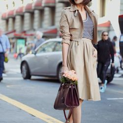 """Chriselle of <a href=""""http://thechrisellefactor.com""""target=""""_blank""""> The Chriselle Factor</a> is wearing a Storets <a href=""""http://www.storets.com/product/Multi-Transforming-Trench-Coat/JISELFAA0003851/?main_cate_no=0&display_group=1""""target=""""_blank"""">jacke"""