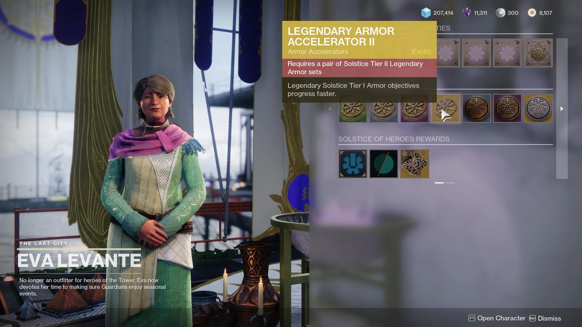 Eva Levante sells a Guardian Armor Accelerators