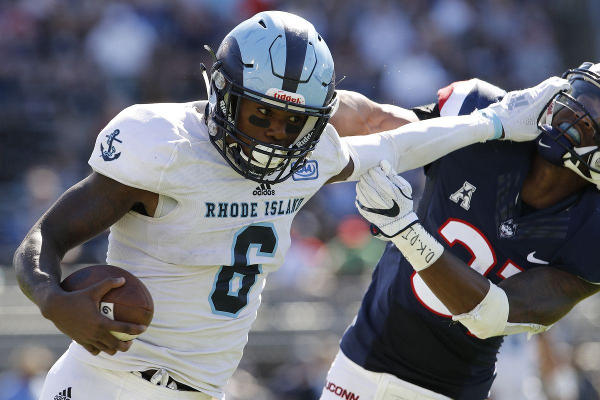 NCAA Football: Rhode Island at Connecticut