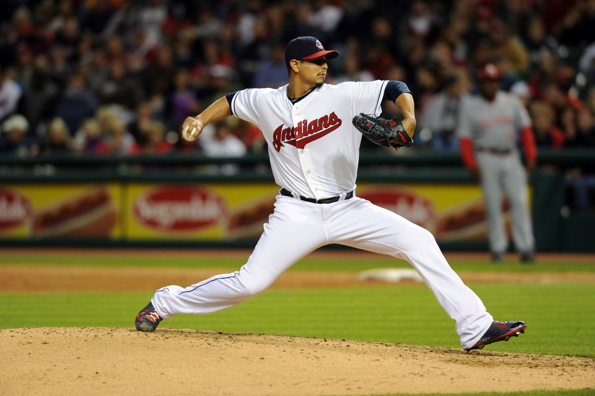 Carrasco has allowed more hits and more home runs in 2015.