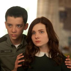 """Asa Butterfield and Abigail Breslin star in """"Ender's Game."""""""