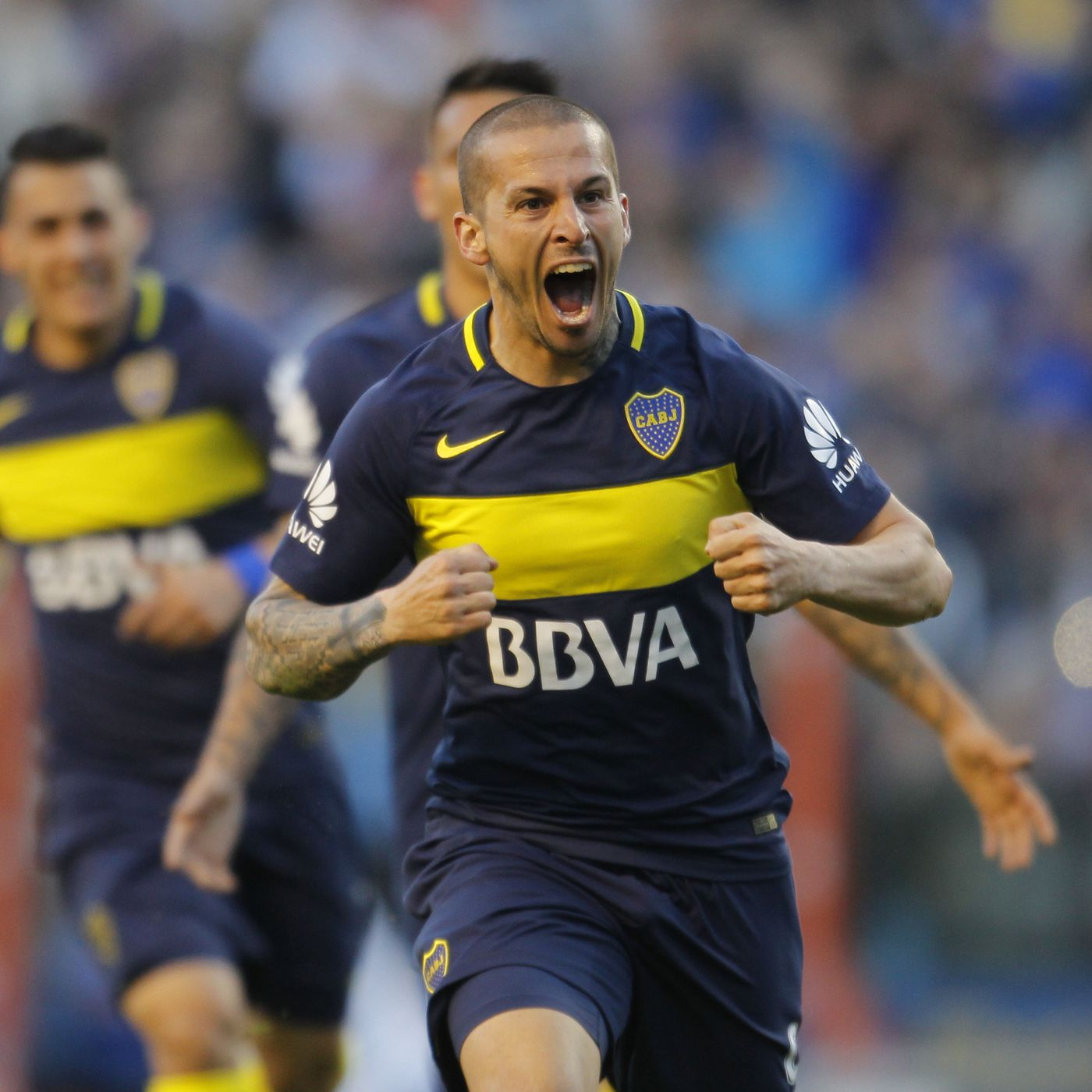 sports shoes 89b4a 89f07 Sounders making record bid for Boca Juniors' Dario Benedetto ...