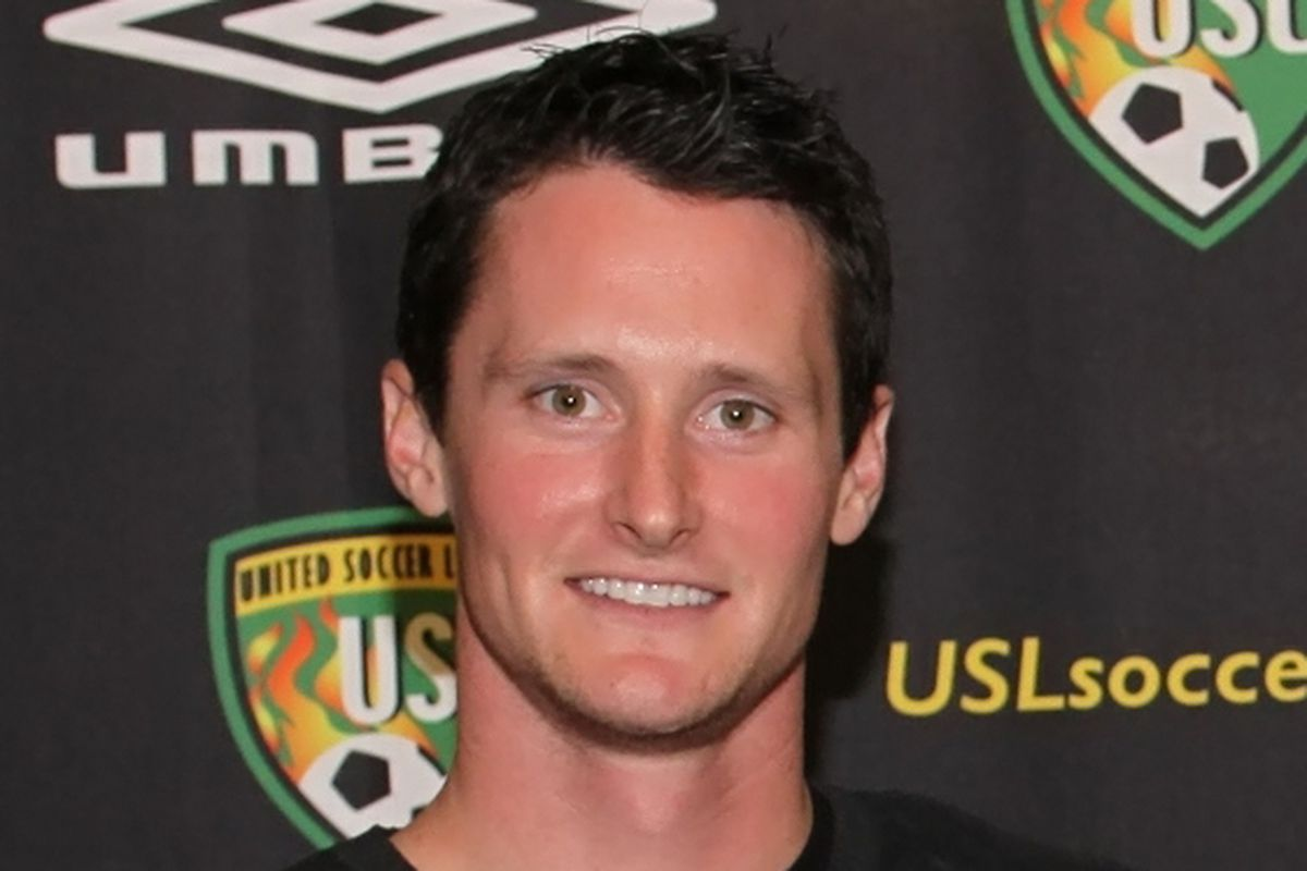 """Brendan Burke coaches the Union Reserve Team in addition to being the manager of Reading United AC. (Photo courtesy of <a href=""""http://www.readingunitedac.com/"""" target=""""new"""">Reading United AC</a>)"""
