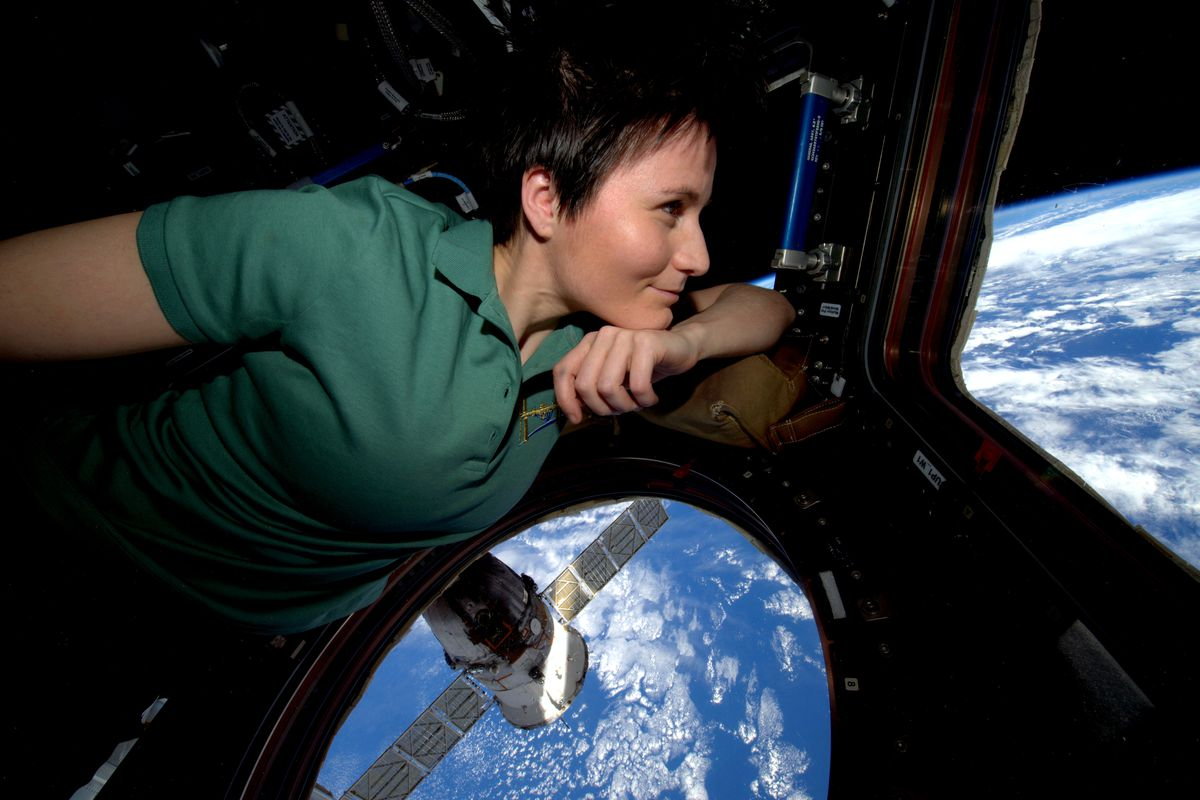 Astronaut Samantha Cristoforetti On Tweeting From Space And Brewing