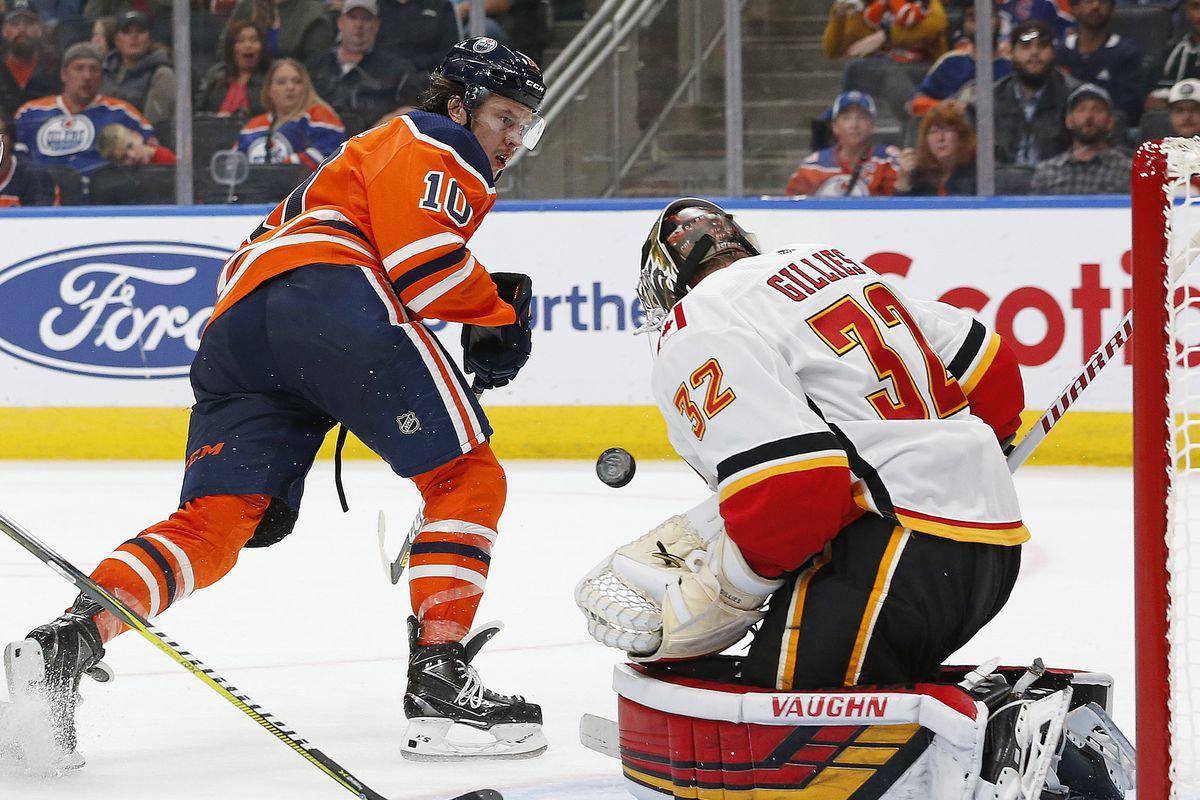 NHL: Preseason-Calgary Flames at Edmonton Oilers