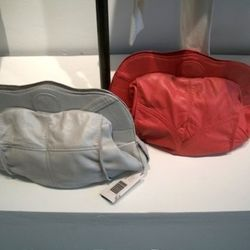 Ashley Watson's butter-soft recycled leather bags