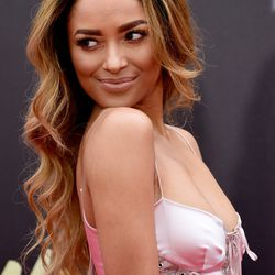 BEST USE OF A CURLING IRON: Kat Graham's perfect waves are courtesy of hair stylist Robear Landeros.