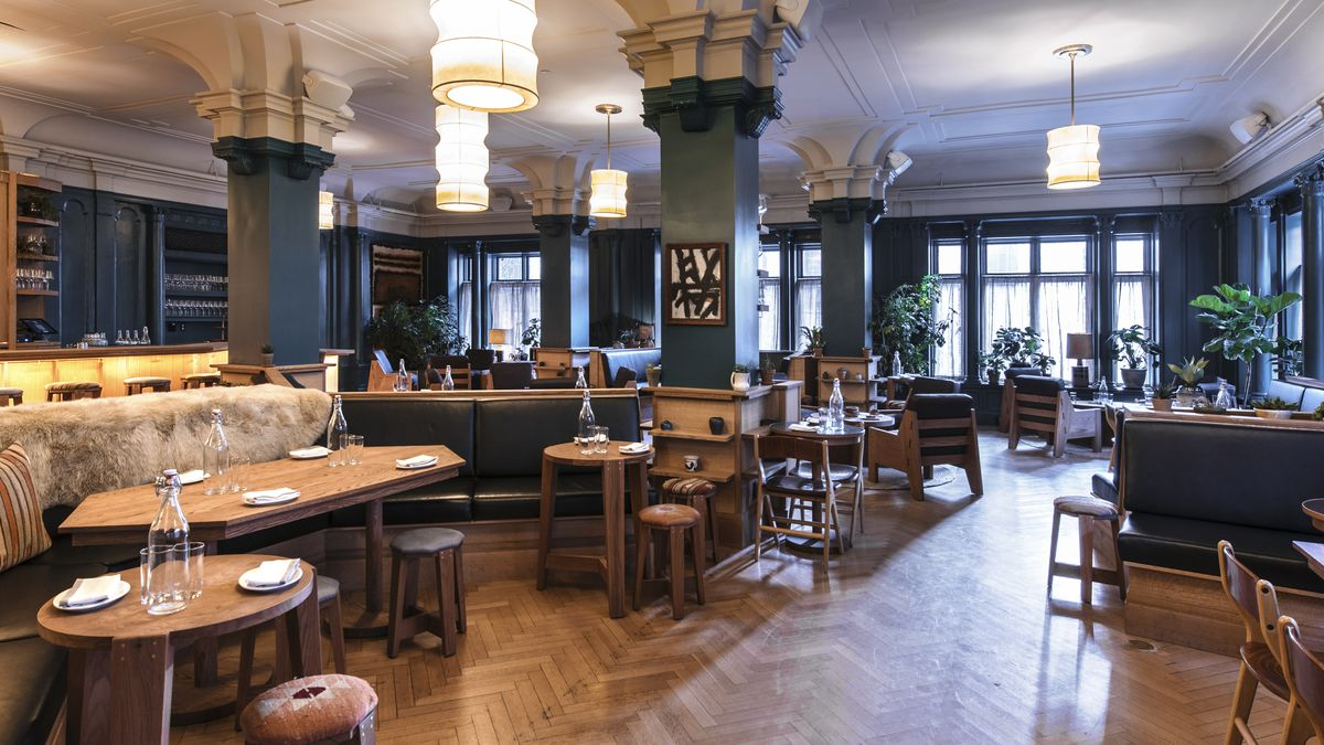 studio george washington bar open in freehand hotels eater ny. Black Bedroom Furniture Sets. Home Design Ideas