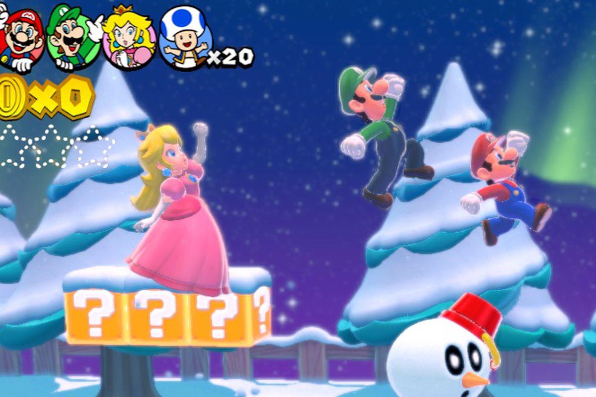 Super Mario World Christmas.Miyamoto Talks Up Super Mario 3d World Hints At New