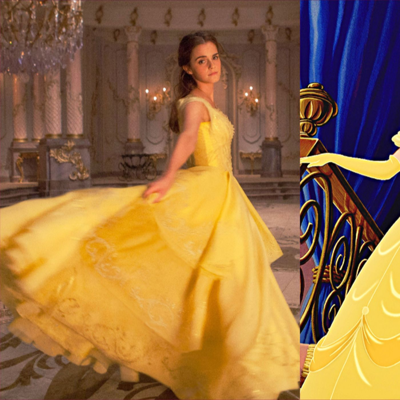 Belle's costumes don't fit the live-action Beauty and the Beast, but they fit her brand - Vox