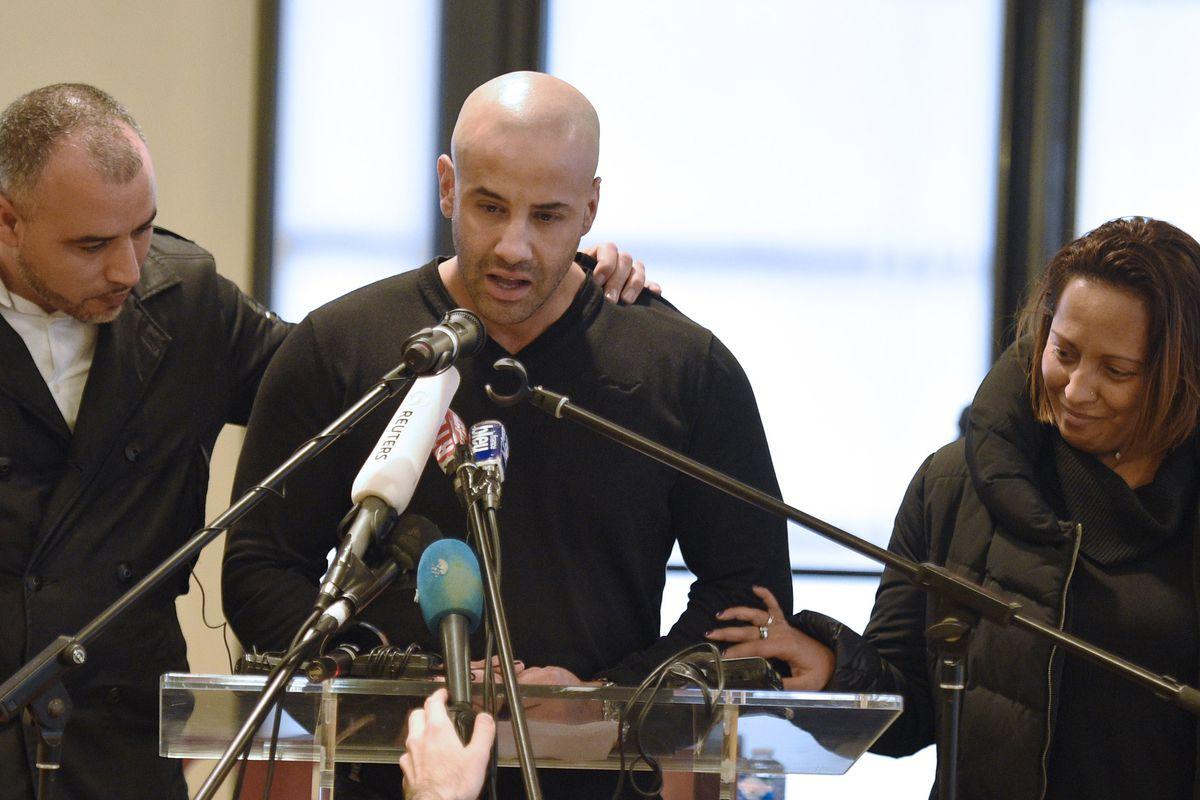 Malek Merabet eulogizes his brother Ahmed in Paris