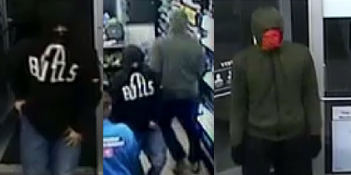 Investigators are looking for information about two males who robbed a Shell gas station July 19 in Homer Glen.   Will County Sheriff's Office