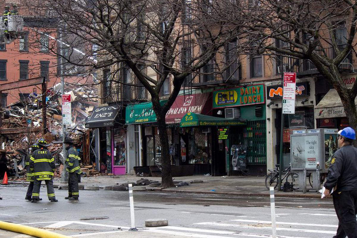 B&H shortly after the 2nd Avenue explosion.