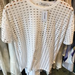 T by Alexander Wang jacquard jersey tee, $90 (from $185)