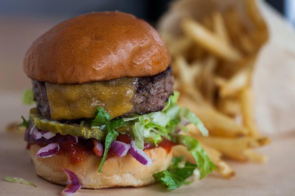 Little Big Burger's burger
