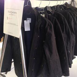 Field jackets, $79