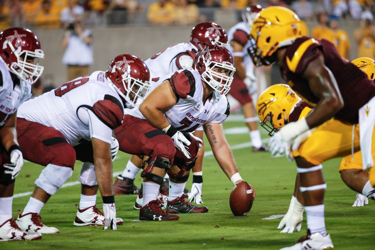 COLLEGE FOOTBALL: AUG 31 New Mexico State at Arizona State