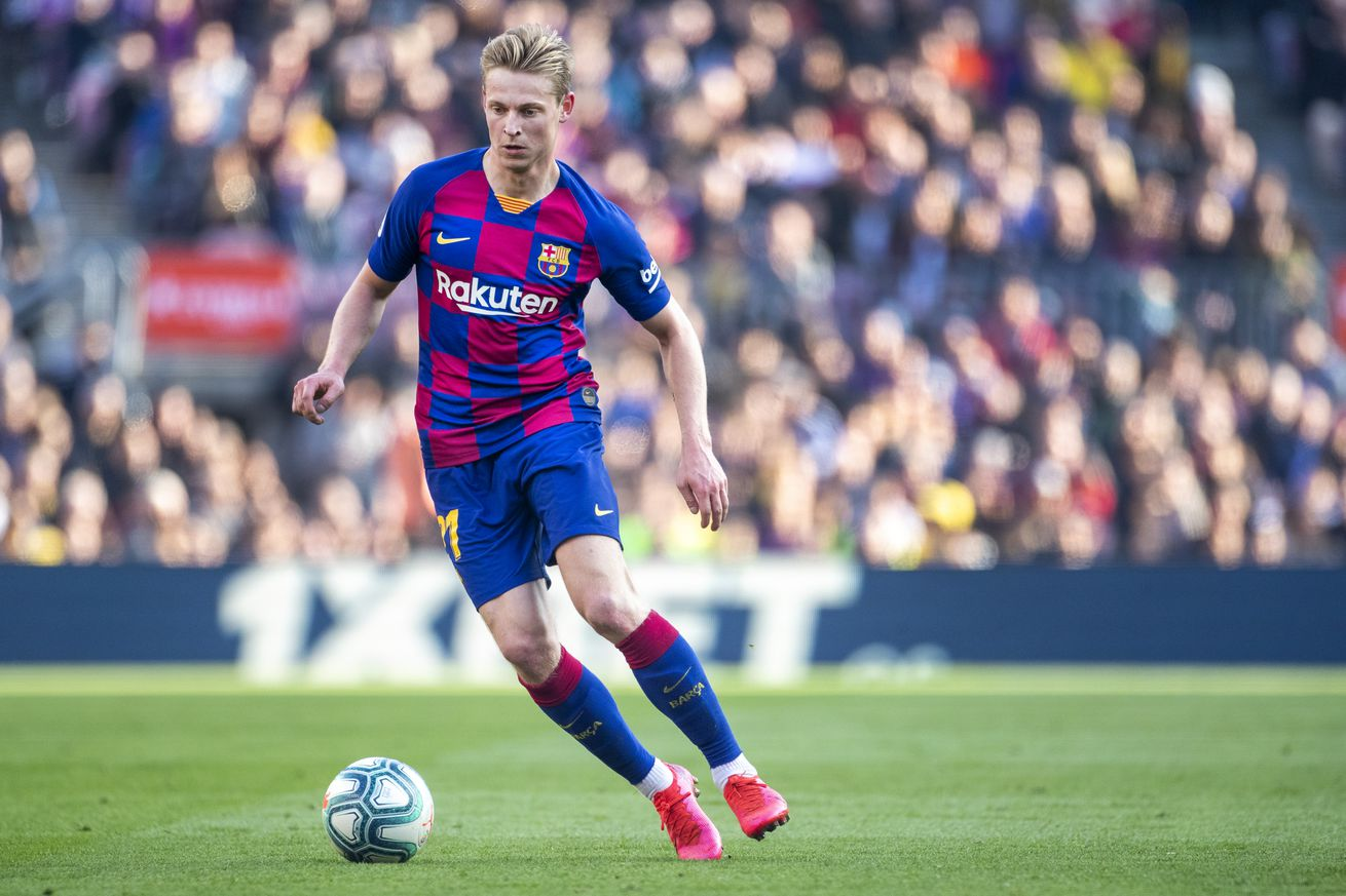 """Is De Jong living up to his potential at Barca"""""""