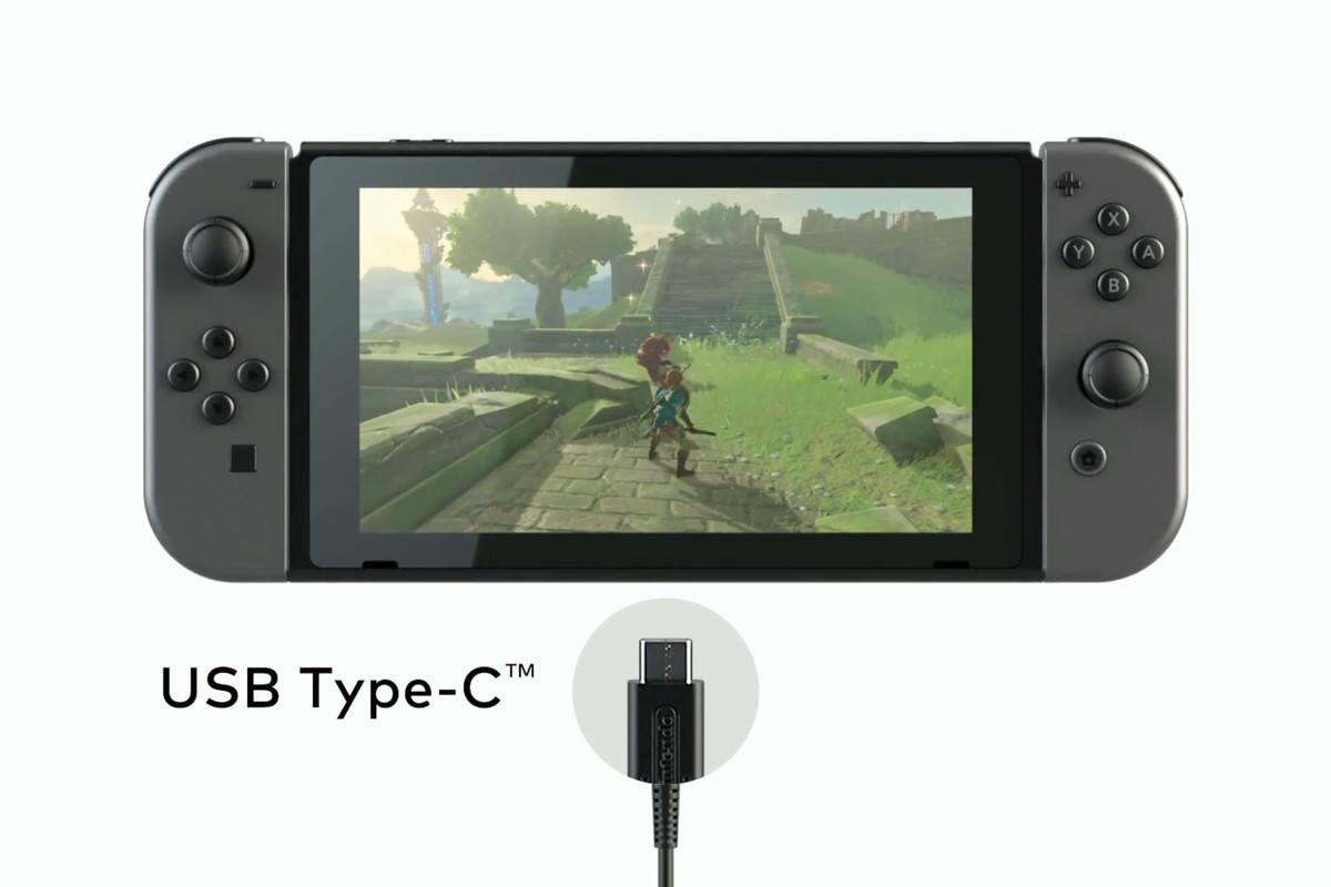 The Nintendo Switch Charges Over Usb C Verge Circuit Above Is A Simple To Charge Phone Battery Announced Today That Will Making It First Device Standard Connector