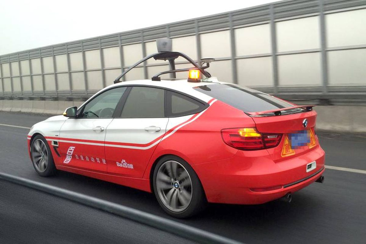 Baidu gets the green light to test self-driving cars on Google's turf - The  Verge