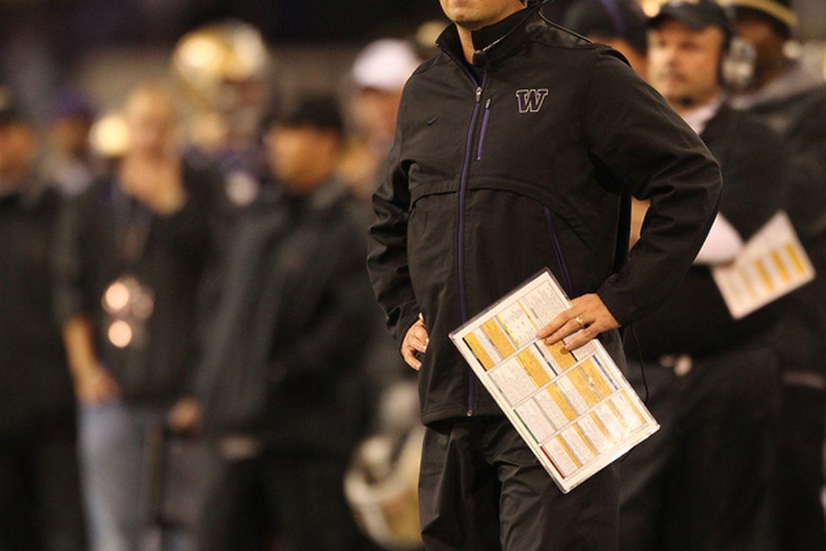 """<em>Sarkasian might be planning a """"black out"""" for UCLA.</em>"""