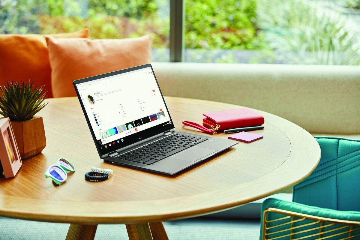 El Chromebook x360 14c de HP es un Chromebook premium por $ 499