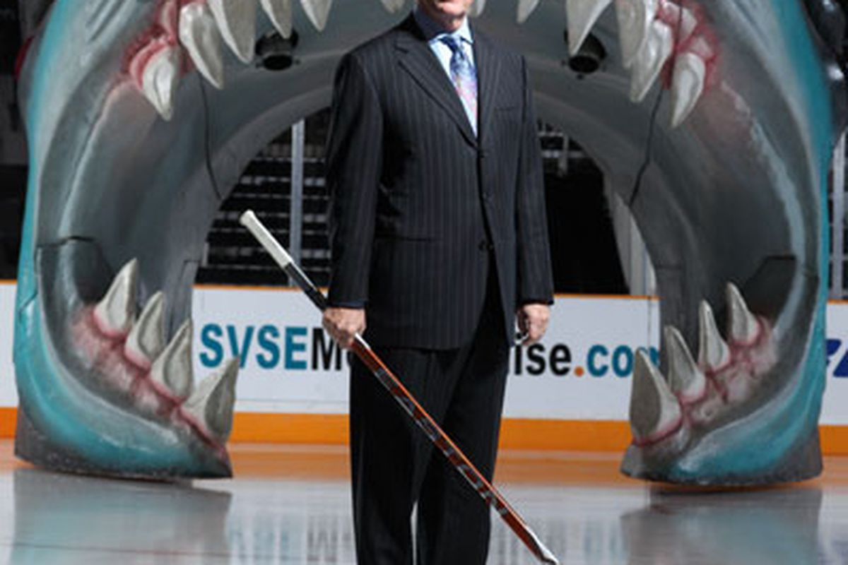 I wonder if Greg can get us a giant Coyotes head to skate out of... Image Copyright Thomas Broening for Forbes