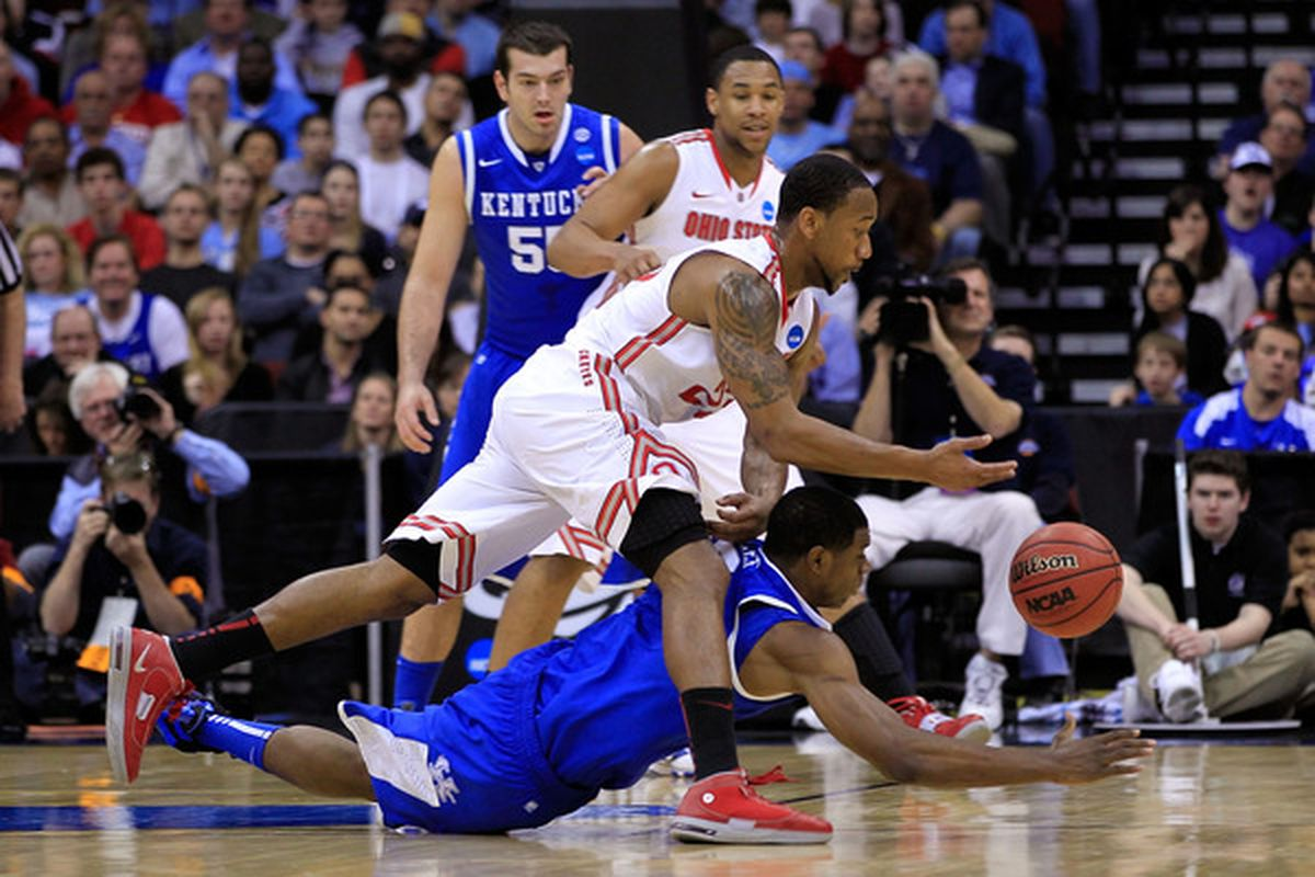 Ohio State guard David Lighty is among those taking part in Atlanta's free agent minicamp this week.