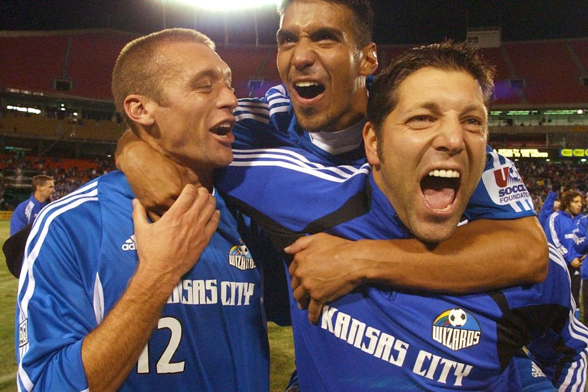on sale 3a3c9 29aac Kansas City's 2004 Open Cup Title: Team, Talisman, Legacy ...