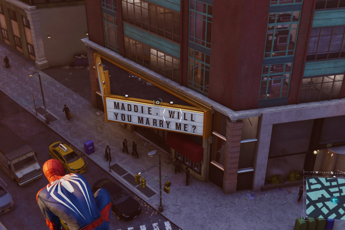 insomniac s spider man has the saddest easter egg ever polygon