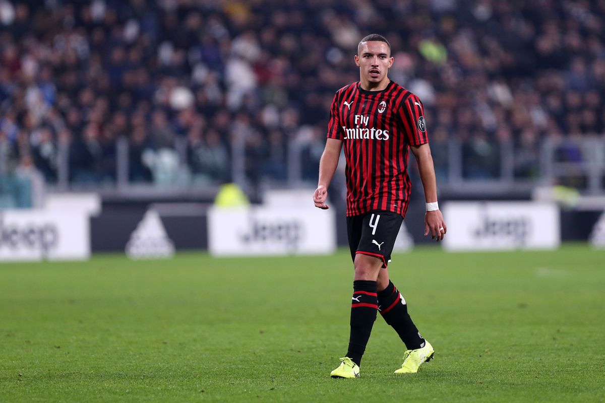 Ismael Bennacer of Ac Milan during the the Serie A match...