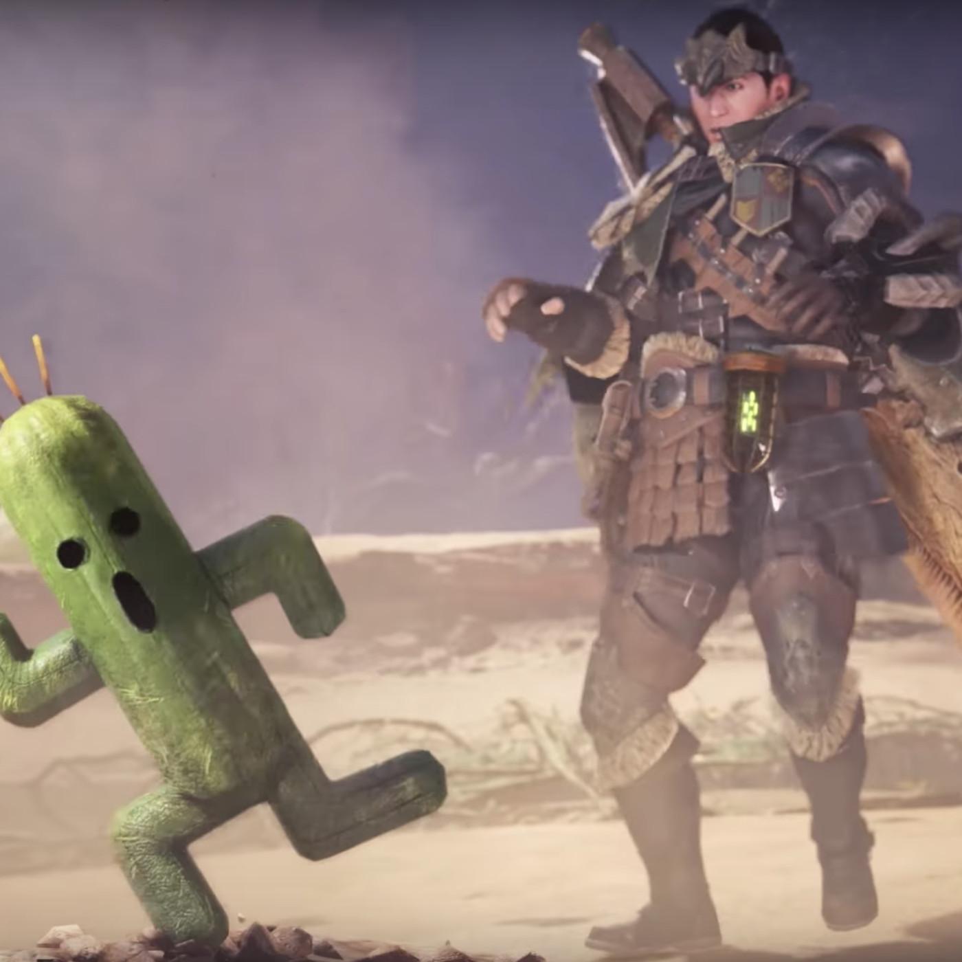 Monster Hunter: World is getting Final Fantasy 14 enemies