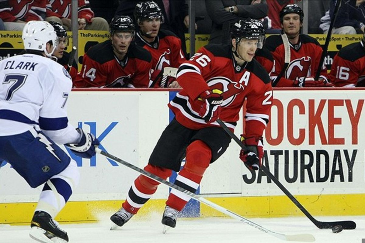Patrik Elias: Heads up, tongue out, usually ready to make a play.