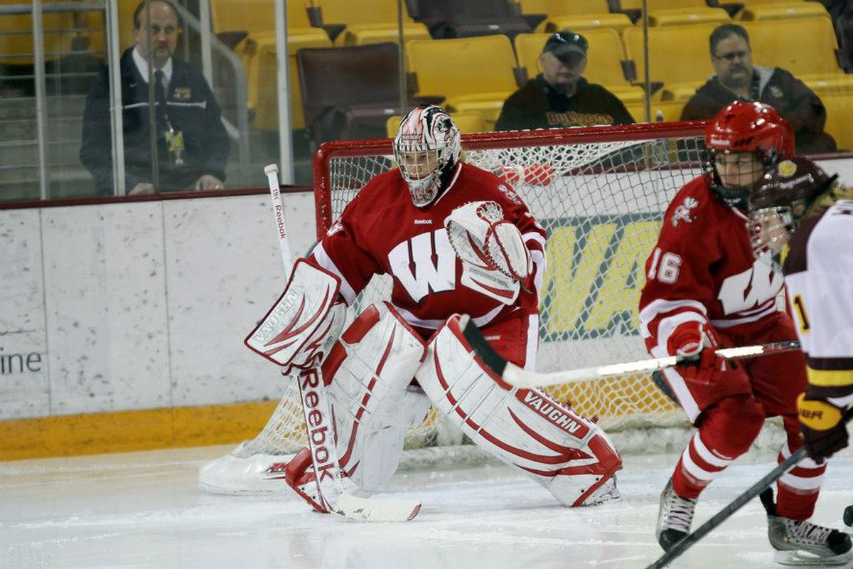 Wisconsin loses All-American Alex Rigsby in goal but appears to have options to replace her next season.