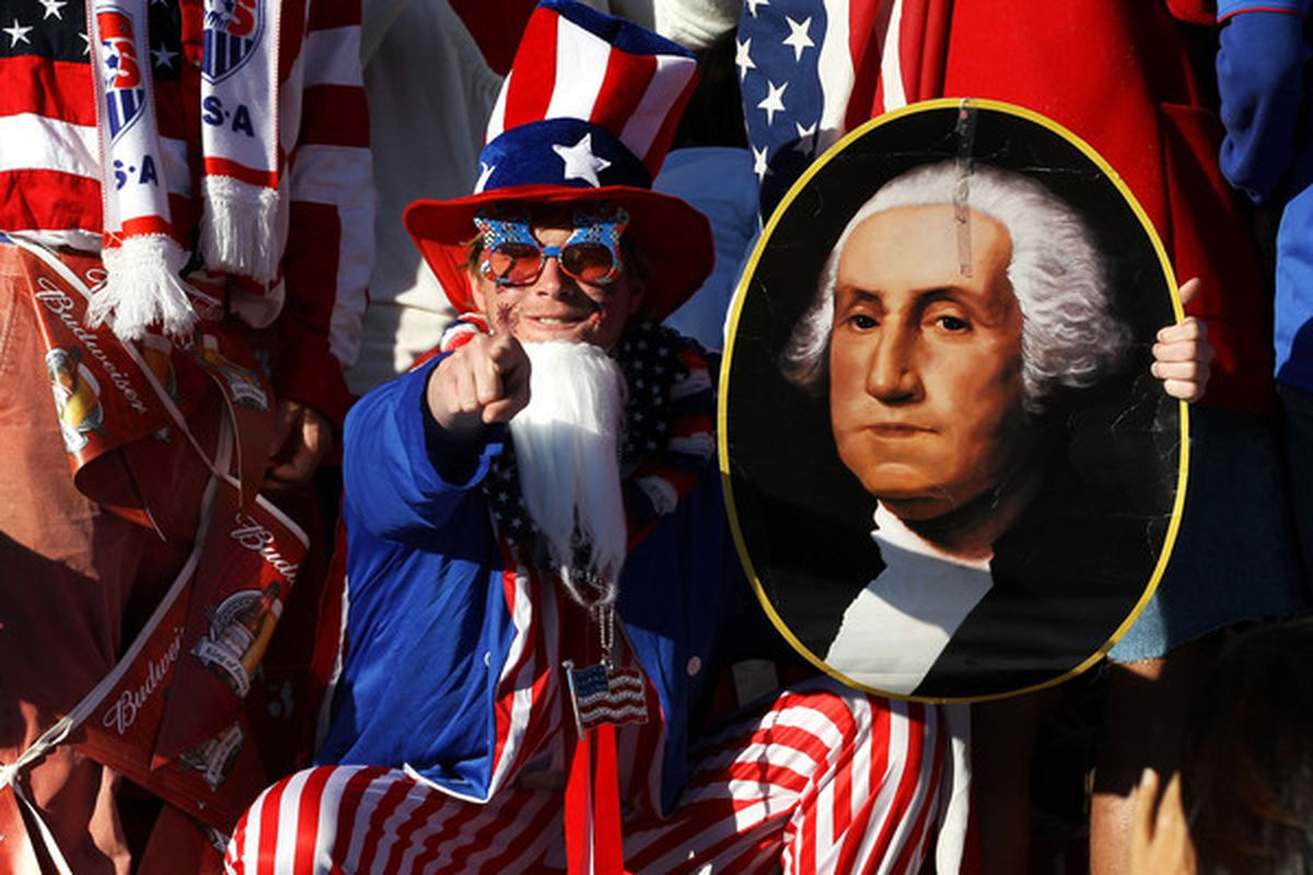 Uncle Sam wants YOU.  (And a win over Algeria.) (Photo by Streeter Lecka/Getty Images)