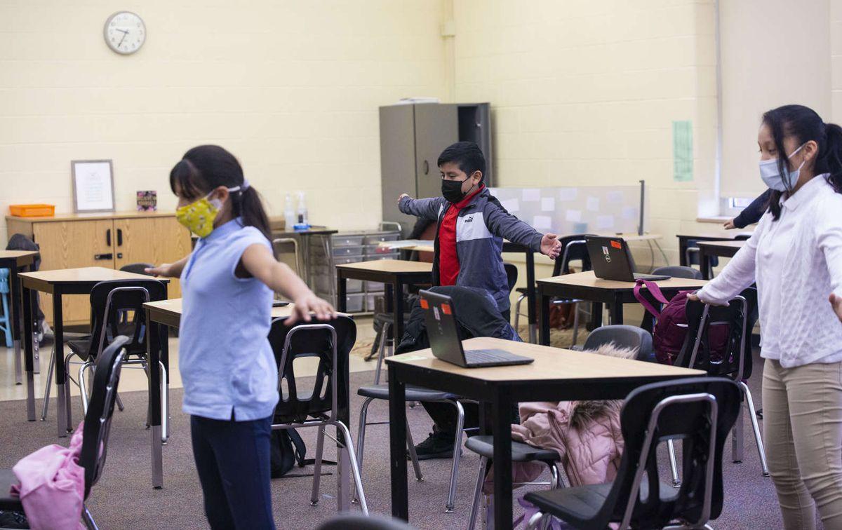 Students areriv
