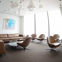 The lounge at Grace