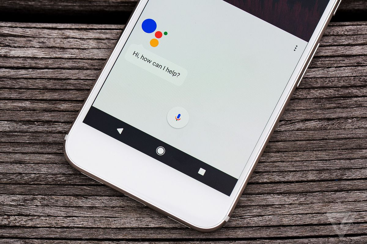 google assistant on the pixel