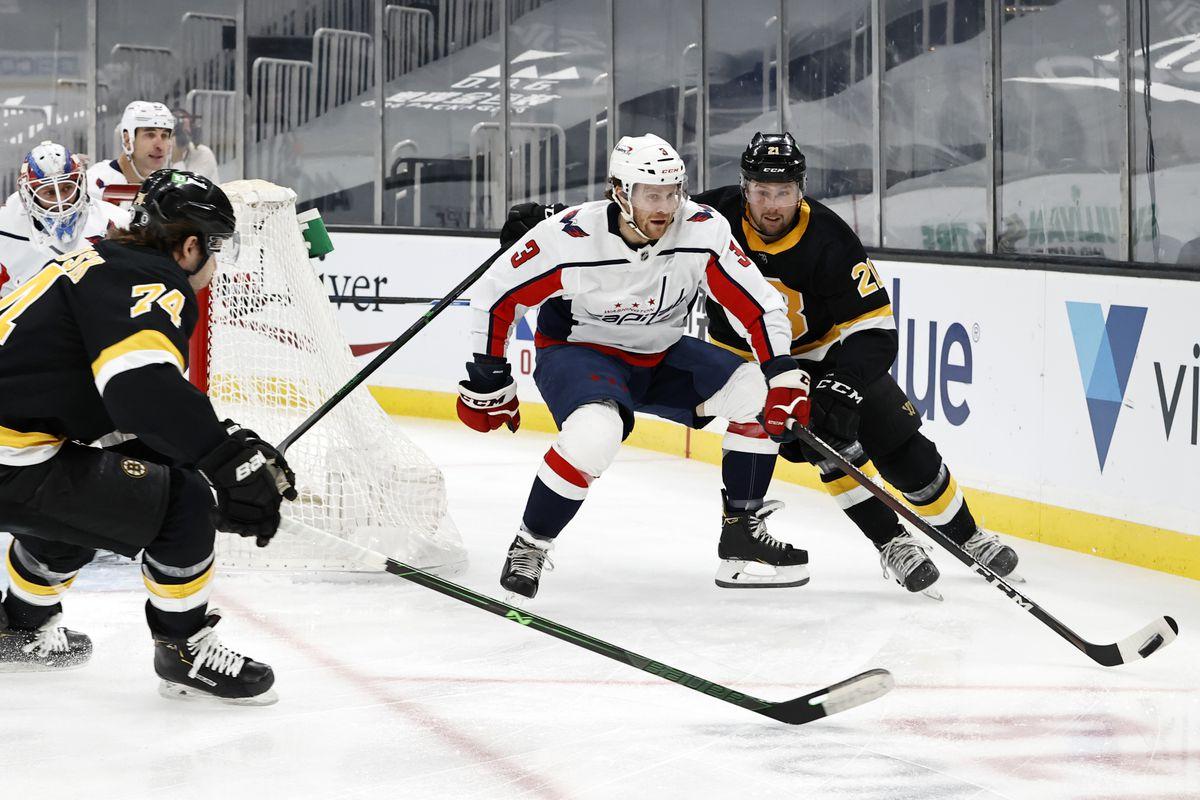 NHL: MAR 05 Capitals at Bruins