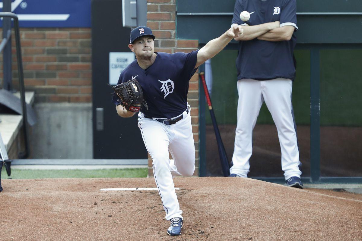 MLB: Detroit Tigers-Workouts