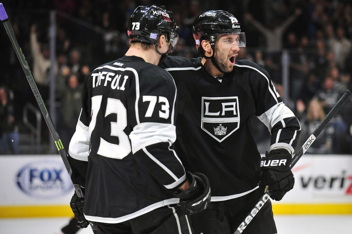 Jarret Stoll finally got the goal of which he was robbed