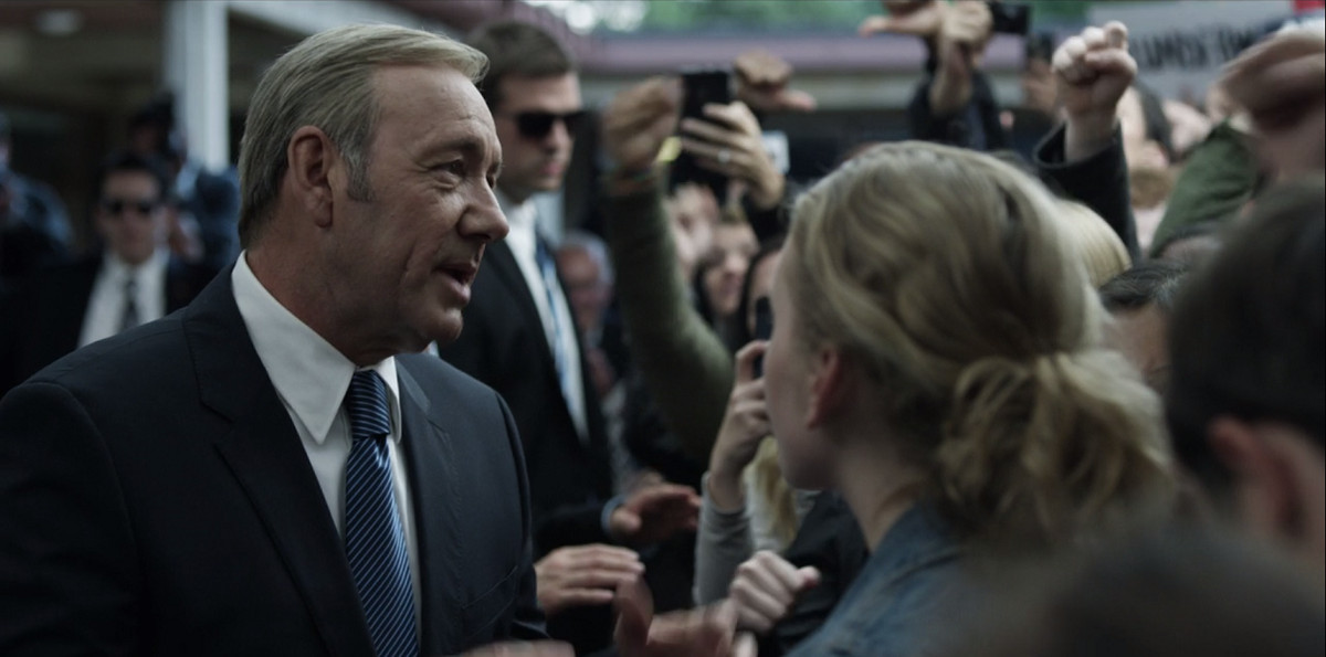 Frank is shot on House of Cards.