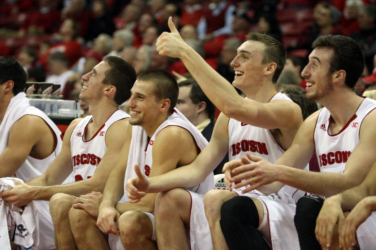 It's been all smiles for the Badgers this year.