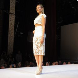 Former NBC <i>Fashion Star</i> contestant Johana Hernandez's Glaudia evening wear collection
