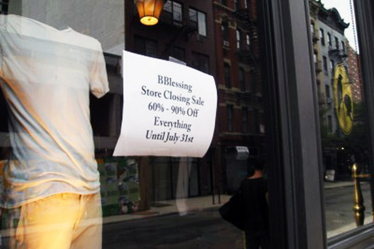 """Image via <a href=""""http://www.boweryboogie.com/2010/07/bblessing-closing-shop-at-181-orchard-street.html?utm_source=feedburner&amp;utm_medium=feed&amp;utm_campaign=Feed%3A+BoweryBoogieALowerEastSideChronicle+%28Bowery+Boogie+%7C+A+Lower+East+Side+Ch"""
