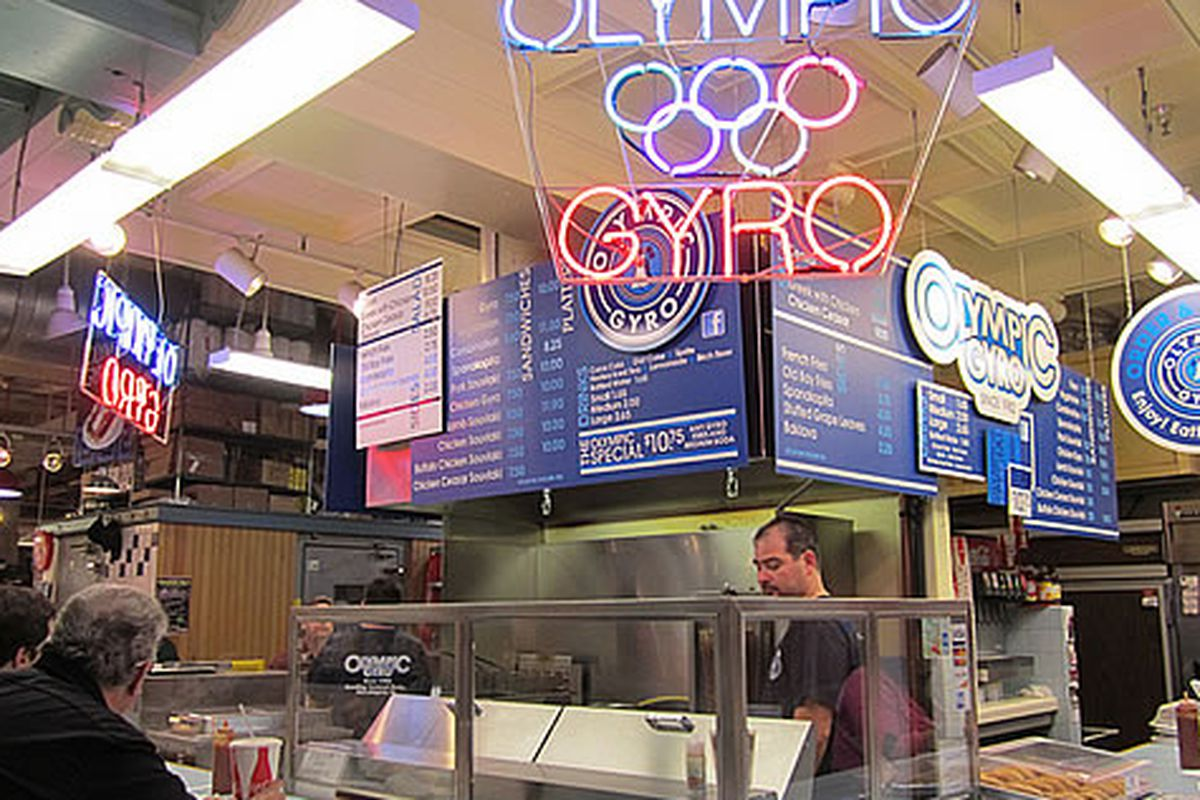 Olympic Gyro is being forced to change their name.
