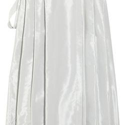"<a href=""www.theoutnet.com/product/236251"">Jil Sander Silk-blend wrap skirt</a>, $177.75 (was $1,185)"