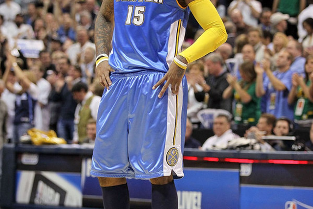 The Nuggets struck gold when drafting Carmelo Anthony third overall in 2003.