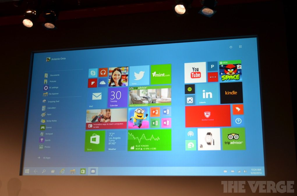 Windows 10 is the official name for Microsoft's next version