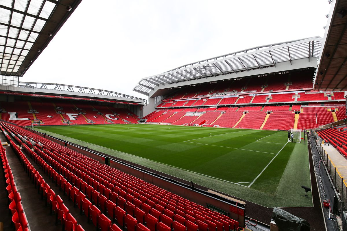 Anfield home of Liverpool Main Stand Opening Event